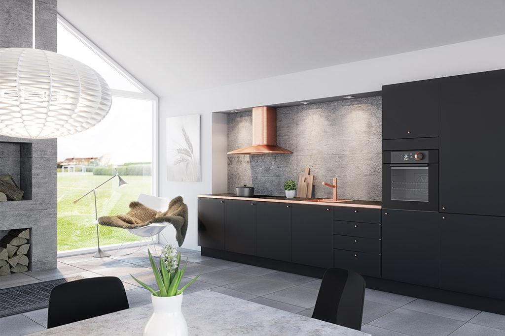 nordsjo-kjokken-milano-matt-svart-sort-kobber-1200x800