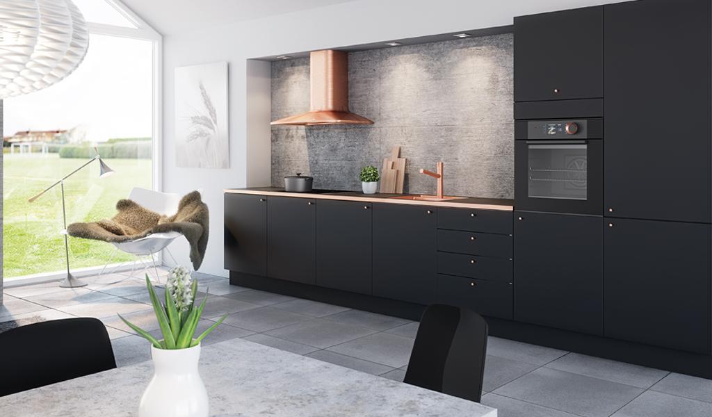 milano-matt-sort-kjøkken