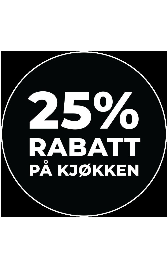 25-rabatt-nordsjo-kjokken-sirkel